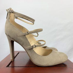 Circus Tan Chissey Heels Size 7